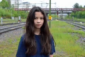 Kim Rehnstedt blev lämnad när tåget gick sönder.