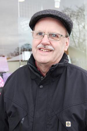 Hans-Erik Larsson, 66 år, Ljusdal:– Nej, det blir inget speciellt firande. Jag har faktiskt fått nog av det i radion i dag.