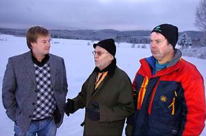 Kjell Söderlund , Curt Landin och Maths Östberg i föreningen Finnskogsriket är starkt kritiska till Bollnäs kommuns förslag till översiktsplan Tema Vindkraft.