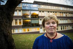 Carina Ytterström är orolig över läget med det stora polistappet i Sundsvall.