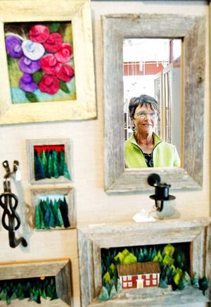 Marie Nordlund, delägare i butiken Gaupa, är en av de cirka 35 arbetsgivare i Östersund som i veckan får besök av Arbetsmiljöverket.