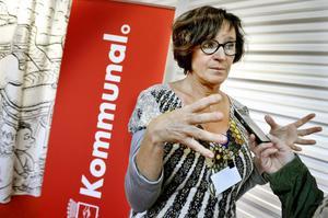 Kommunals ordförande Annelie Nordström drar sig inte för krav på skattehöjningar för att säkerställa omsorgsfrågor i kommuner och landsting.