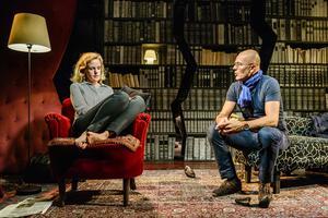 Malin Alm och Åke Arvidsson i Teater Västernorrlands