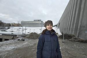 Helena Flodin, landskapsarkitekt på Stadsbyggnadskontoret, Sundsvalls kommun.