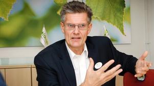 Peter Graf, vd på Tiohundra AB.