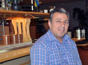 Hasan Hosun, omstartad restauratör i Bispgården.Foto: Ingvar Ericsson