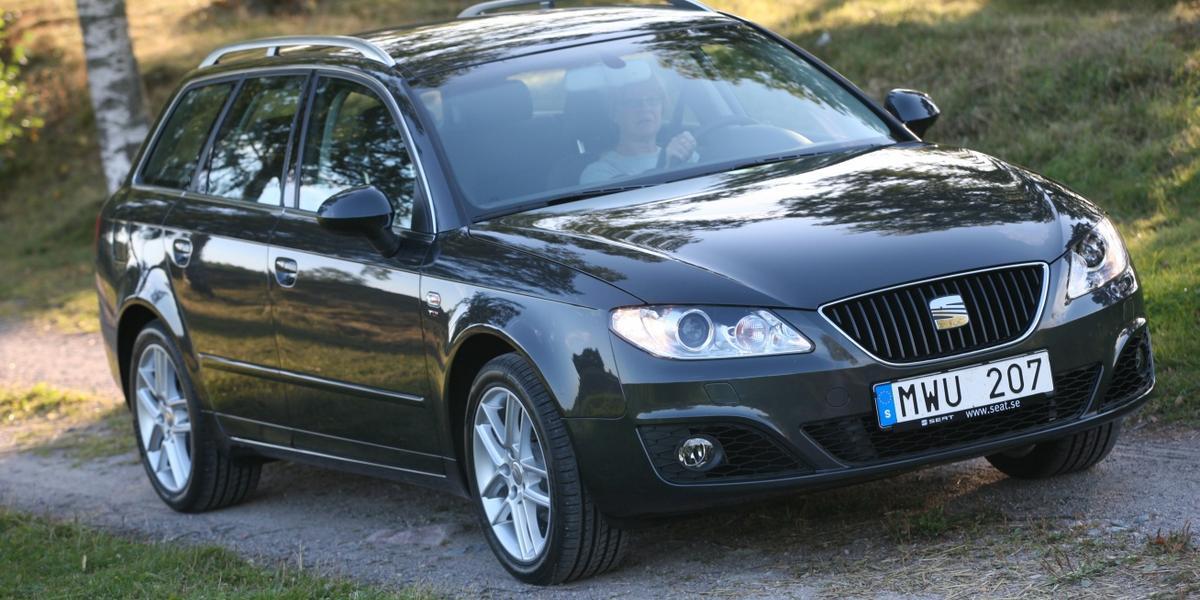 Seat Exeo kombi: mycket av Audi kvar