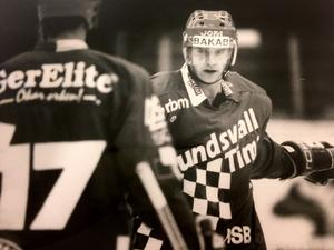 Anders Vikberg under sin tid i Sundsvall/Timrå.
