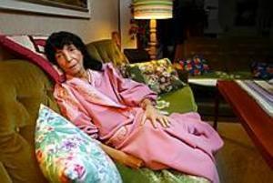 Foto: LASSE WIGERT Lunginflammation. Maj Norling fick hjälp på njurmottagningen dit hon vände sig efter att ha blivit hänvisad till en hälsocentral av akuten.
