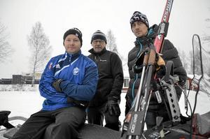 Ny skidsektion. Nu är en ny skidsektion på gång att starta i Lindesberg. Petter Carlsson, Matti Hämäläinen och Markus Andréasson är några i kärntruppen.