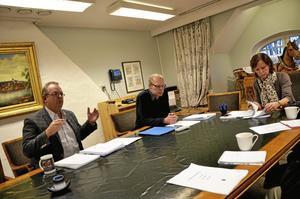 Tom Rymoen (M) och Solveig Oscarsson (S) har samarbetat de senaste två åren, bland annat med att sätta budgeten tillsammans. I och med valet på söndag kan det samarbetet komma att avslutas.