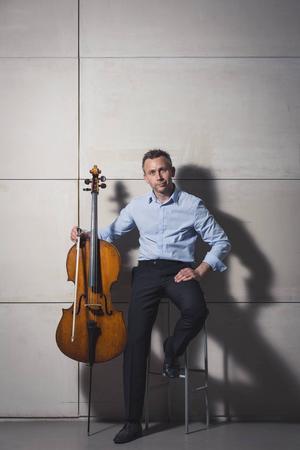 Solisten Mats Olofsson framförde Schumanns cellokonsert.