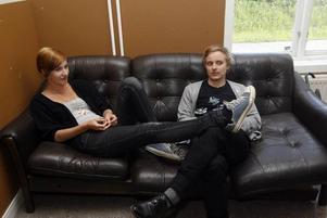 Bästa vänner & nya gallerister. Weronika Bela & Jonas Westlund.