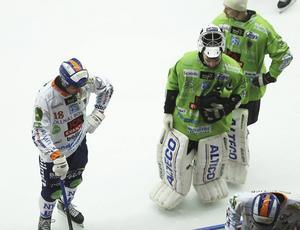 Tung kväll i Lidköping för Anders Spinnars och Niklas Prytz.