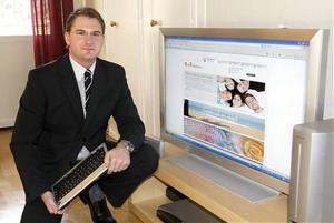 Emil Höglund från Härnösand har skapat en spelsida på internet.