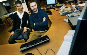 Daniel och Jonas Davidsson.