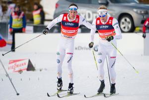 Marcus Hellner och Daniel Richardsson. Bilden är från ett tidigare tillfälle.Bild: Pontus Lundahl/TT