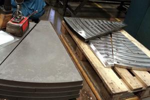 I Iggesund tillverkas bland annat knivstål till pappers- och massaindustrin.