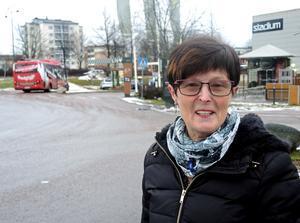 Annelie Nyhlén säger att handelsbussen fyller en viktig social funktion.