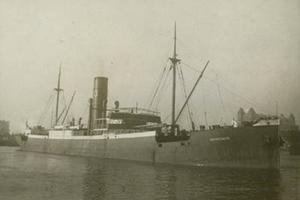 S/S Grängesberg kapades av tyskarna och döptes om till Argonaut.  Hon kolliderade  och sjönk 29 decmber 1942