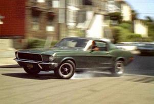 Filmen Bullit från 1968 innehöll en vild biljakt genom San Fransiscos gator och innebar en enorm publicitet för Ford Mustang.   Foto: Warner Bros.