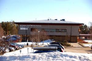 Arbetsmiljöverket är inte glada på Härjedalens kommun och kan besluta om ett föreläggande, då kommunen inte har vidtagit åtgärder för att höja säkerheten på Medborgarhuset.  Foto: carin Selldén