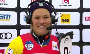 Anna Swenn-Larsson missade guldet – men visade ändå formen.