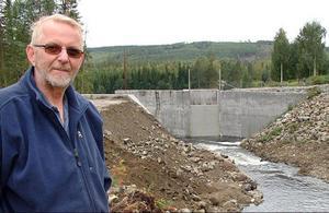 Leif Jonsson ångrar inte för ett ögonblick att kan köpte kraftverket i Ljungå.