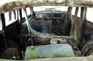 Inredningen i Stock Car-bilarna var minst sagt spartansk.
