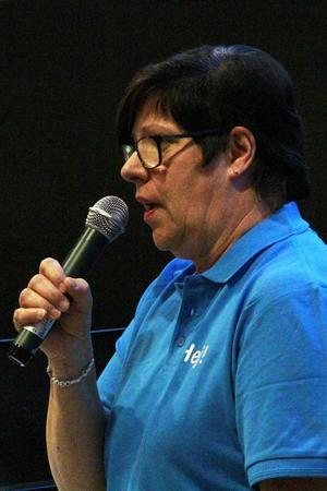 Sparkade loss kvällen gjorde kommunalrådet Monica Olsson, (S).