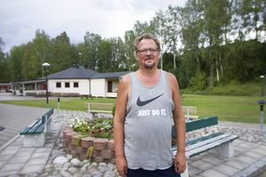 Lars Eriksson, ordförande Kovlands IF, har varit engagerad i bilbingon i sju års tid.