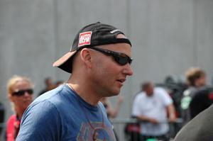 Adam Flamholc, Limhamn, kör snabbt i Pro mod. Han var kvaletta på 6,01.