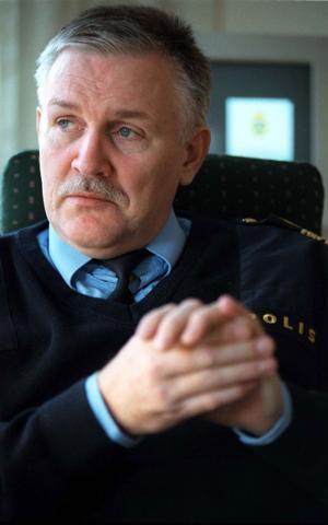 Benny Ericsson, Gävleborgs läns rättschef. Arkivbild.