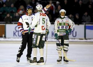 År 2007. VSK mot Hammarby. Tobias Holmberg andas ut.