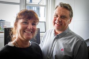Maria Lundmark och Leif Östberg vid Specialpedagoger online kammade hem en delad andraplats.
