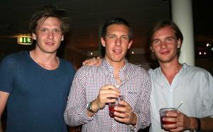 Blue Moon Bar. Klabbe, Johan och Tobias