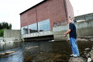 Kraftverket i Högfors är ett problemområde för ädelfiskar enligt Bo-Yngve Nilsson.