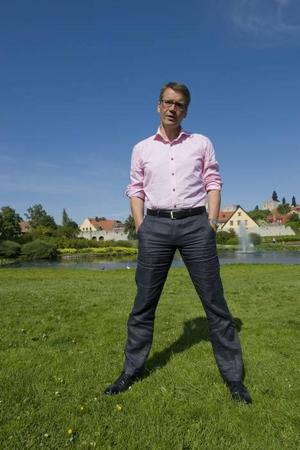 Göran Hägglund, KD, värnar värdekonservatismen.