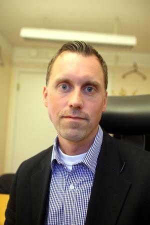 Mattias Rundgren är projektledare för projektet Lika Villkor.