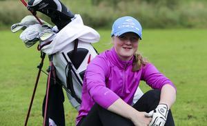 Alice Johansson trivs bra hemma i Lenninge där hon kan träna närspel ett stenkast från hemmet.