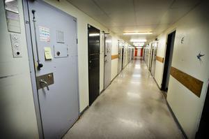 Det stängda häktet i Västerås.