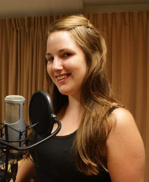Sandra Björklund, producent på Vår Radio.
