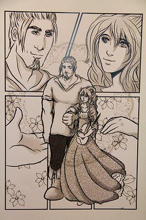 Eliriel heter en av Saras karaktärer. Hon var från början en schablon, en alvtjej men har mer och mer blivit en karaktär av kött och blod.