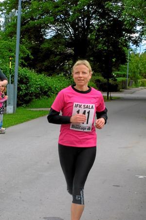 Marika Kovanen, IFK Sala, sprang milloppet.