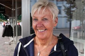 Kerstin Nilsson, Sollefteå:– I dag kramade jag mina barnbarn. Det gör jag jämt.