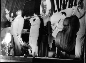 Louis Armstrongs spelning i pjäshallen på LV5 är en av de mest legendariska i Sundsvall.