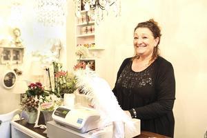 Annica Westelius öppnar upp en ny butik i centrum.