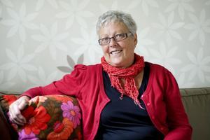 Sylvi Källström började engagera sig i LP-stiftelsens arbete för fem år sedan och arbetar oförtrutet vidare.