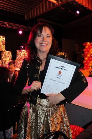 Årets nykomling Bee Free, Pernilla Jansdotter.