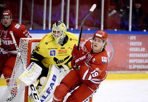 VIK-keepern Marcus Dahlbom storspelade mot Timrå.
